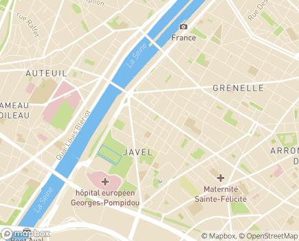 Localisation O2 Kid 75 Ouest - 75015 - Paris 15