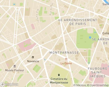 Localisation Plénitys Aide à Domicile 75 - 75006 - Paris 06