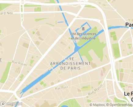 Localisation Ménage Service Paris - 75020 - Paris 20