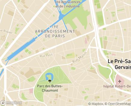 Localisation MAS Maison Saint Jean de Malte - 75019 - Paris 19