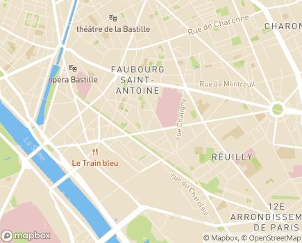 Localisation Les Jardins d'Orsan (Petite Unité de Vie) - 75012 - Paris 12