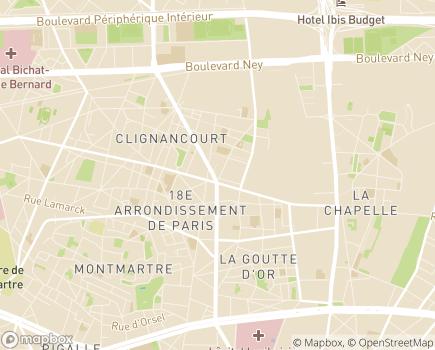 Localisation Domidom Services - 75018 - Paris 18