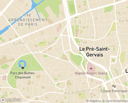 Localisation EHPAD Herold - 75019 - Paris 19