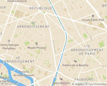 Localisation Douceur et Quotidien - 75011 - Paris 11