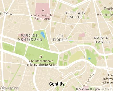 Localisation La Maison du Parc EHPAD - Adef Résidences - 75013 - Paris 13