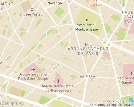 Localisation ADHAP - ADOMVIVIR - 75014 - Paris 14