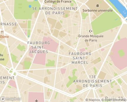 Localisation Instan Services à la personne - 75005 - Paris 05