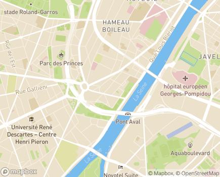 Localisation Age d'Or Services - 75016 - Paris 16