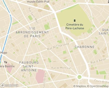 Localisation ONELA Agence de Paris 11 - 75011 - Paris 11