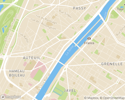 Localisation ADHAP Paris 16 – Vitathome - 75016 - Paris 16