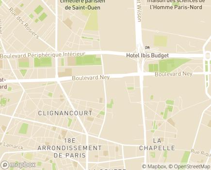 Localisation LADAPT Paris Adultes SAVS Service d'accompagnement à la vie sociale - 75018 - Paris 18
