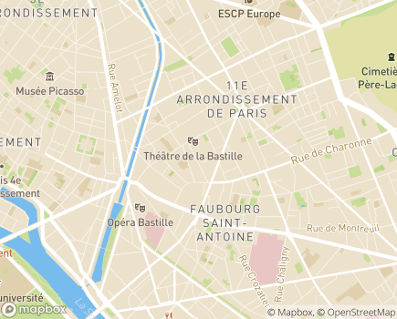 Localisation Paris Domicile Est - Service d'aide et de soins à domicile - 75011 - Paris 11