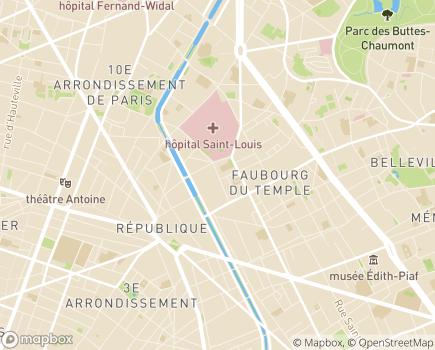 Localisation Paris Domicile Nord-Est - 75010 - Paris 10