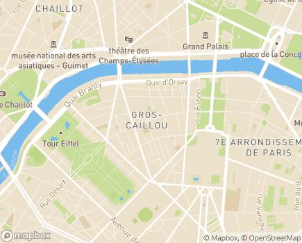 Localisation Paris Domicile Ouest - Service d'aide et de soins à domicile - 75007 - Paris 07