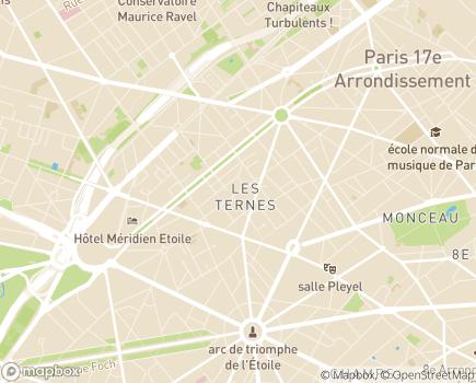 Localisation Paris Domicile Nord-Ouest - Service d'aide et de soins à domicile - 75017 - Paris 17