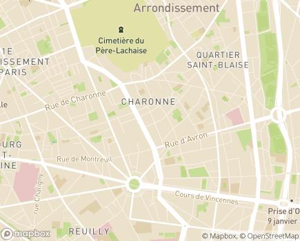 Localisation AMSAD Léopold Bellan - 75020 - Paris 20