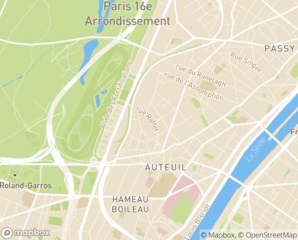 Localisation Petits-Fils Paris-Ouest - 75016 - Paris 16