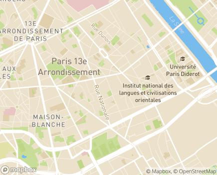 Localisation Colisée - Résidence La Maison des Parents - 75013 - Paris 13