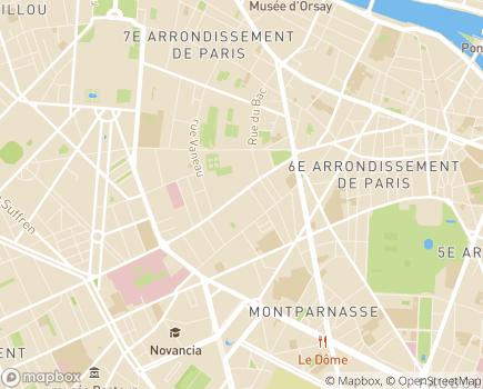 Localisation Foyer Clair Matin Grégoire - 75006 - Paris 06