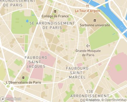 Localisation Maison Relais Norbert Dana - 75005 - Paris 05
