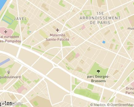 Localisation Solutia Paris - 75015 - Paris 15