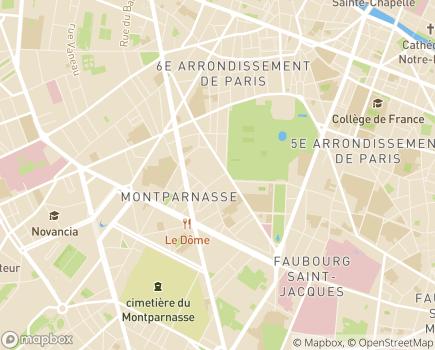 Localisation Philomène - 75006 - Paris 06