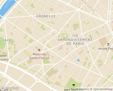 Localisation Présence à Domicile Léopold Bellan - 75015 - Paris 15