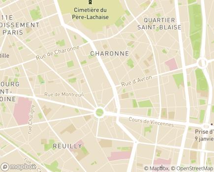 Localisation Dolcéa Résidence Les Ambassadeurs EHPAD - 75011 - Paris 11