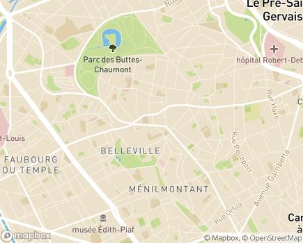 Localisation FEALIPS - Fédération Européenne des associations luttant contre l'isolement et pour la prévention du suicide - 75020 - Paris 20