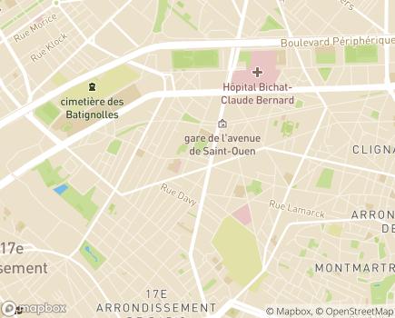 Localisation Famili Services - 75017 - Paris 17