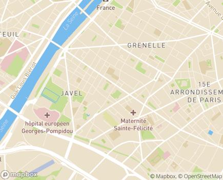Localisation Ouihelp - Paris - Aide à domicile - 75015 - Paris 15