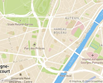 Localisation ONELA Agence de Paris 16 - 75016 - Paris 16