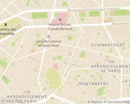 Localisation DomusVi Domicile - 75018 - Paris 18