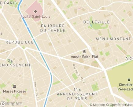 Localisation Camomille - 75011 - Paris 11