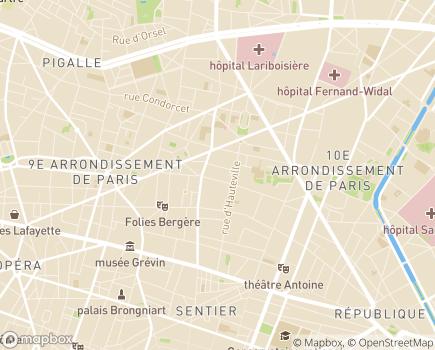 Localisation CDO Centrale des Opticiens Allopticien et Allaudition - 75010 - Paris 10
