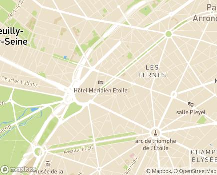 Localisation AXEO Services - 75017 - Paris 17