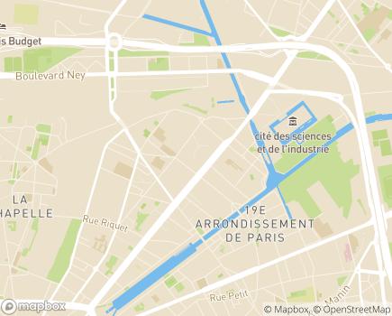 Localisation O2 Paris 19 - 75019 - Paris 19