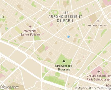 Localisation EHPAD Villa Danielle Torelli - 75015 - Paris 15