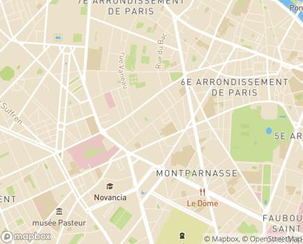 Localisation EHPAD Résidence Antoine Portail - 75006 - Paris 06