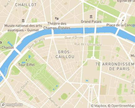 Localisation Résidence Autonomie Leprince - 75007 - Paris 07