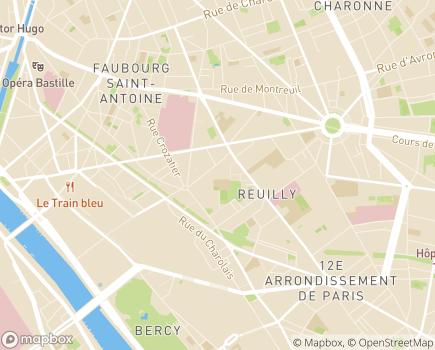 Localisation Résidence Autonomie Saint-Eloi - 75012 - Paris 12