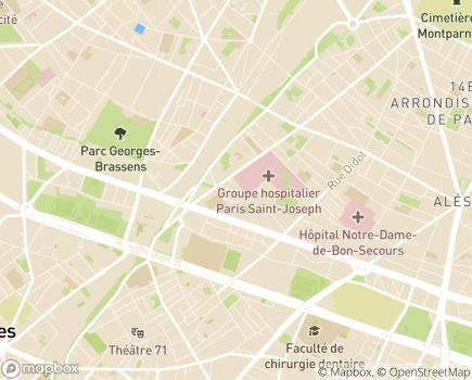 Localisation Résidence Autonomie Les Arbustes - 75014 - Paris 14