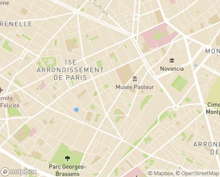 Localisation Résidence Autonomie Quintinie-Procession - 75015 - Paris 15