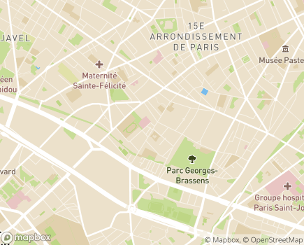 Localisation Résidence Autonomie Vaugelas - 75015 - Paris 15