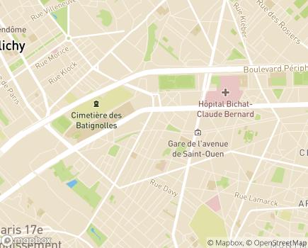Localisation Résidence Autonomie Les Epinettes - 75017 - Paris 17