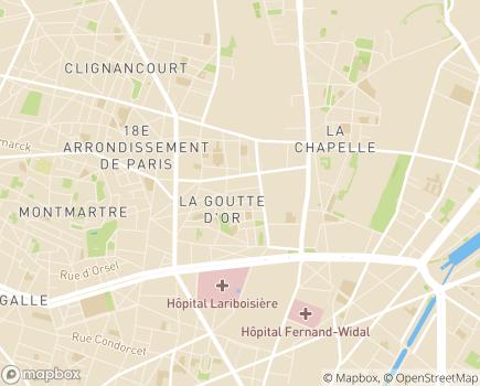 Localisation Résidence Autonomie Bon Accueil - 75018 - Paris 18