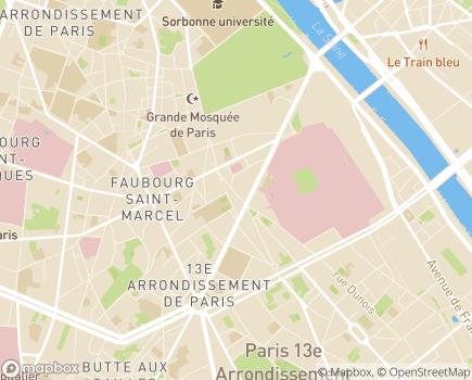 Localisation ONELA Agence de Paris 13 - 75013 - Paris 13