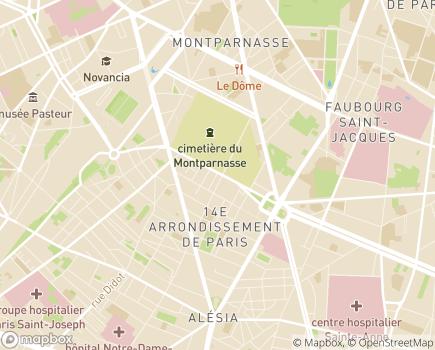 Localisation Senior Compagnie - 75014 - Paris 14