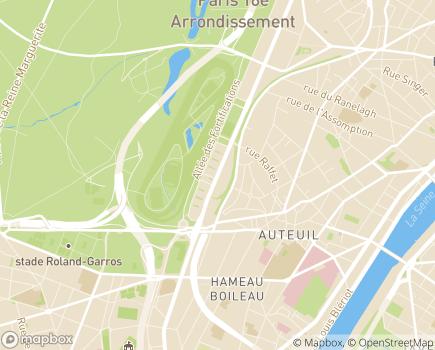 Localisation Résidence Services Seniors Paris - Auteuil Cogedim Club® - 75016 - Paris 16