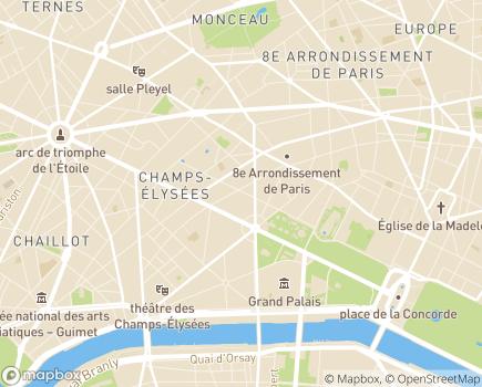 Localisation Servi-Age - 75008 - Paris 08